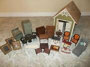 Dollhouse Miniatures Furniture Lot