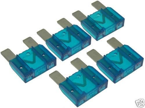 Lot of 5 MAXI Fuses 60A / 60 Amp  #167