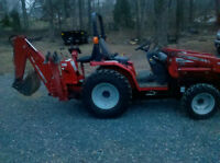 Looking for a compact tractor with loader and backhoe