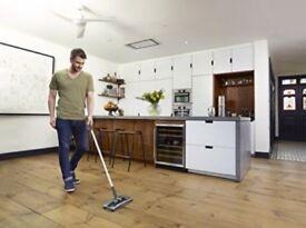 BLACK+DECKER PSA215B Lithium Sweeper cleaner cordless 7.2v USED