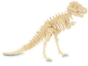 Tyrannosaurus-T-Rex-Dinosaur-3D-Wooden-Model-Kit-Jurassic-Jigsaw ...