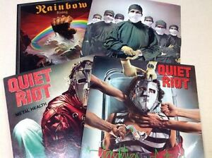 Records METAL-ROCK (70-80s) In good condition+