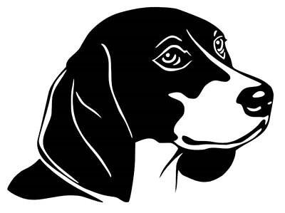 Beagle Car Decal / Sticker