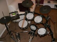 Roland TD12 electronic kit plus hardware Ascot Brisbane North East Preview