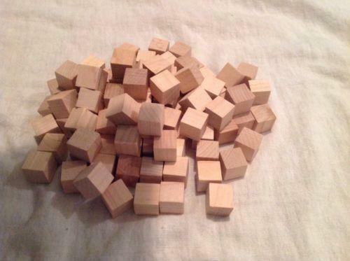 Unfinished wood blocks crafts ebay for Where to buy wood blocks for crafts