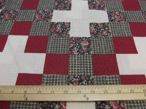 Cheater Quilt Top Fabric Ebay