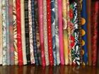 Holiday/Christmas Craft Fabric Lots