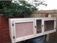 Brand new indoor 4ft rabbit hutch