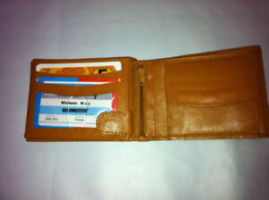 wallet leather brand new
