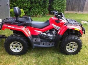 CAN AM MXT 650 Low km's/hrs
