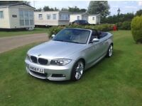 BMW 118i convertible 27k miles from new