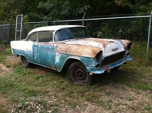 Looking for a project 2 door 1955 Bel Air/150/210 post car