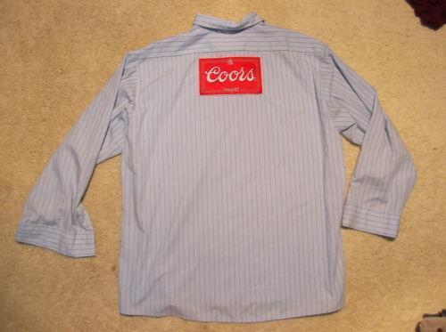 Mens Blue Work Shirts