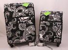 Vera Bradley Suitcases with Lock