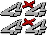 4x4 Stickers