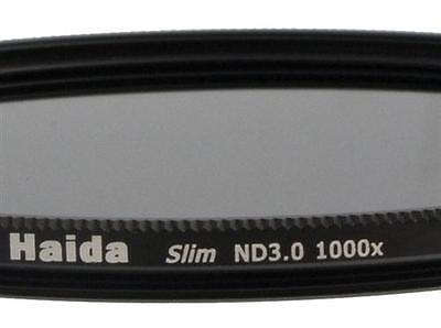Haida Slim ND Graufilter ND1000x 62mm inkl. Cap mit Innengriff