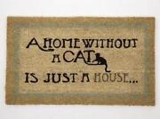 Cat Door Mat
