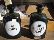 Glass Apothecary Bottles