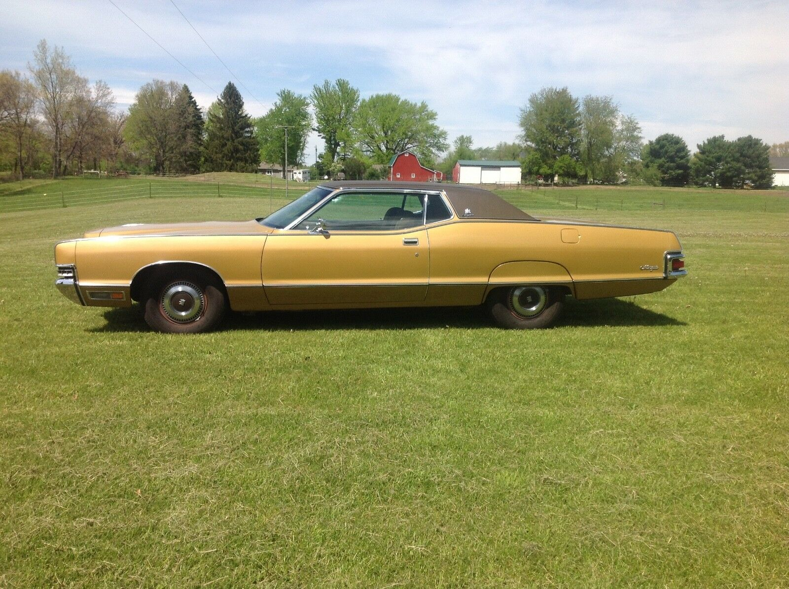 1972 Mercury Marquis Brougham 2 Door Hard Top Low Reserve
