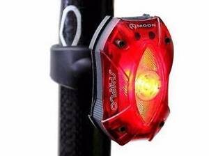 Moon Shield 60 Lumen Rear Flashing USB Rechargeable Bike Tail Lig East Perth Perth City Area Preview