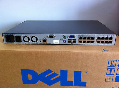 Dell PowerEdge 2161DS-2 (2161) DS-2 KVM Over IP Console Switch DS2 520-395-507