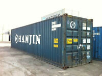 20ftand 40ft Steel Storage container