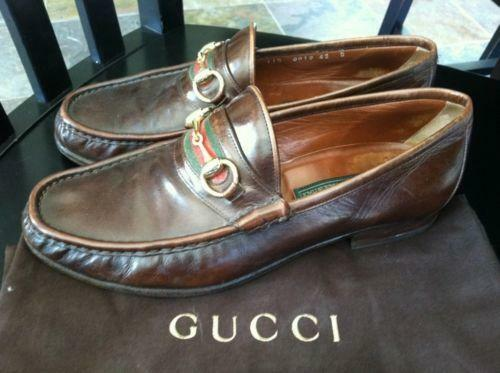gucci mens leather shoes ebay
