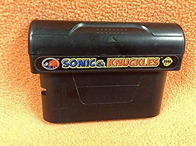 Sonic   Knuckles Sega Genesis    Cart Only   Game Adapter Free Ship