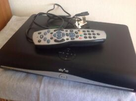Sky Digital box 160GB one year old with 2 Remotes.