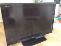 "37"" TOSHIBA FREEVIEW X3 HDMI TV WITH STAND & REMOTE"
