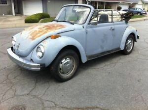 Wanted - VW Super Beetle Convertible Project