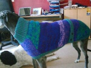 Greyhound Coat Knitting Pattern