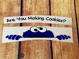 Cookie Monster Decal for KitchenAid or other mixers. Are you making cookies?