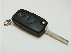 Audi Remote Keyless Entry Fob 3 Button
