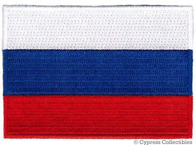 RUSSIA FLAG embroidered iron-on PATCH RUSSIAN EMBLEM VLADIMIR PUTIN Россия NEW
