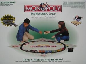 BACHMANN - MONOPOLY Electric Train Set - HO Gauge