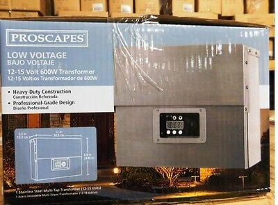 Proscapes by Malibu 600 Watt Transformer 8111 0600 01 Landscape Lighting Lights