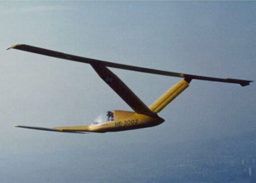 1/4 Scale Aviafiber Canard 2FL Sailplane Plans, Templates and Instructions 135ws
