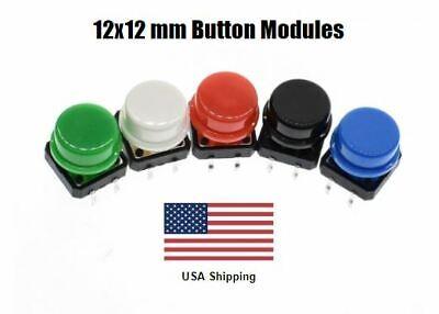 10 12x12 Mm Push Button Module For Arduino Development