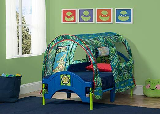 nickelodeon toddler tent bed