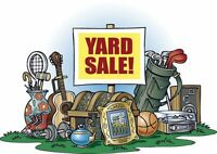 """Charity YARD SALE --- all summer long until October 31st"""