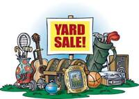 Yard Sale at the Wentworth Recreation Centre May 19 and 21