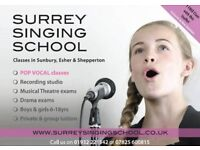 Singing Class for Children! Classes in Esher and Sunbury, FREE one week trial for new pupils.