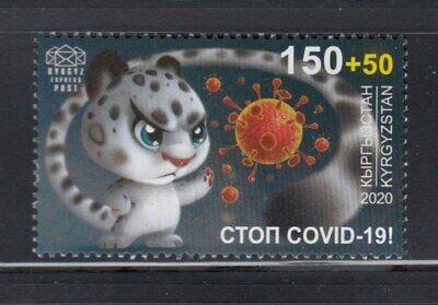 KYRGYZSTAN Stop Corona Pandemic MNH stamp