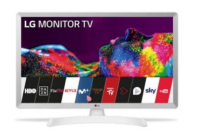 Led LG 28TN515SWZ Smart TV HD Ready Blanco con Wifi