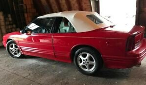 1995 Red Oldsmobile Cutlass Convertible Excellent Condition