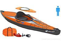 Sevylor Inflatable Kayak - K1 Pointer (Single Seater/1 man)