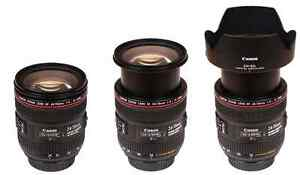 Canon 24 - 70 f4 L is