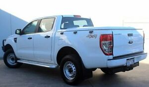 2015 Ford Ranger PX XL Double Cab White 6 Speed Sports Automatic Utility Berwick Casey Area Preview