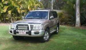 2006 Toyota Landcruiser HDJ100R 100 Series Gold 5 Speed Automatic Wagon Capalaba Brisbane South East Preview